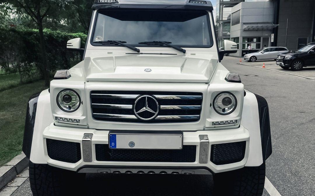 Mercedes G500 4×4 hoch2