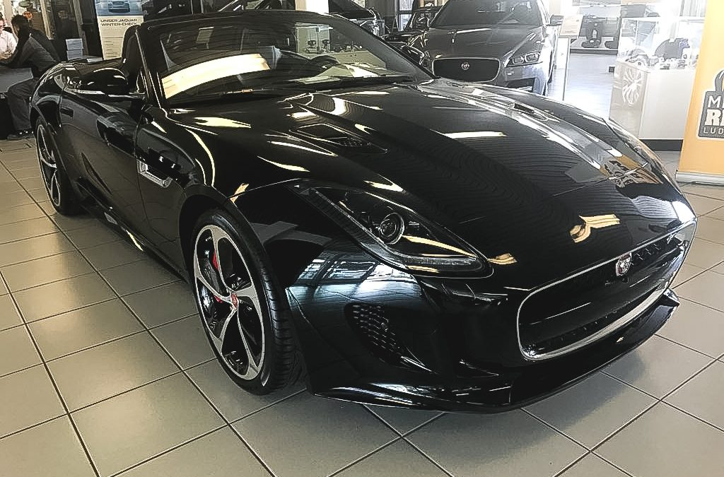 Jaguar F-type R convertible