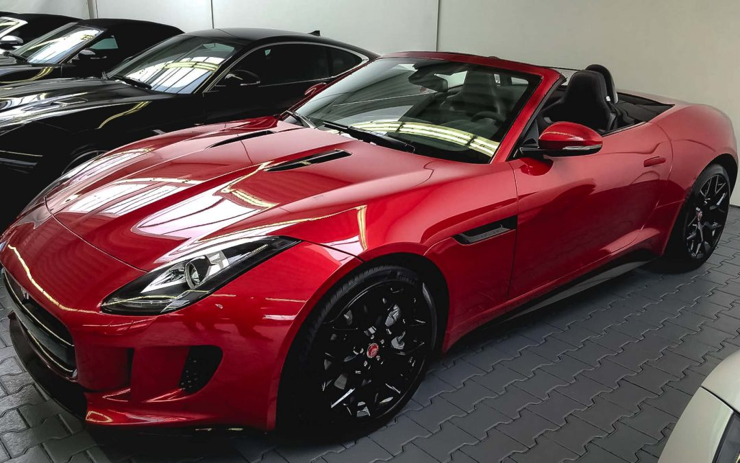 Jaguar F-type V8 convertible